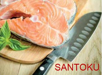 cuchillo japones santoku