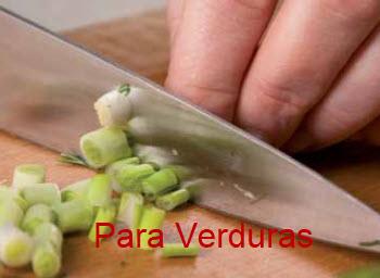 Cuchillo para cortar verduras