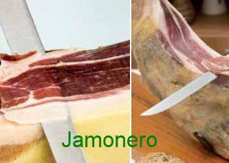 cuchillo para cortar jamon